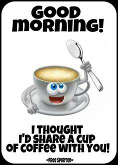 Have a beautiful day 🌅☕ Coffee Talk, I Love Coffee, My Coffee, Coffee Drinks, Good Morning Coffee, Good Morning Good Night, Coffee Jokes, Coffee Sayings, French Vanilla Cappuccino