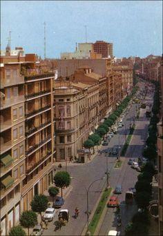 Calle Colon con doble sentido. Años 60