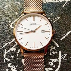 See this Instagram photo by @laveto_watches. Mesh Band, Rose Gold Watches, Beautiful Roses, Luxury, Classic, Instagram Posts, Accessories, Derby, Classical Music