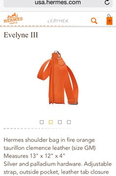 hermes knockoff handbags - Jamie Lee Curtis in HERMES Evelyne. The price of the smaller size ...