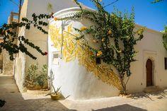 Djerbahood - Inkman Mural   Djerba, Tunisia