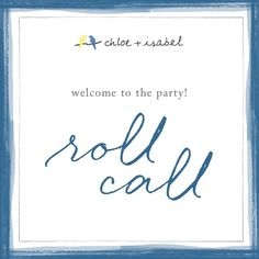 Welcome to Akua Ashley's Party! If you've attended a c+i pop-up before, you know you're in for some fun! If this is your first time, welcome + get ready for a great time! My name is Ashley, and I am a Merchandiser with Chloe + Isabel, a fashion-forward jewelry company located in NYC! Stay tuned for laughs, giveaways, + more!