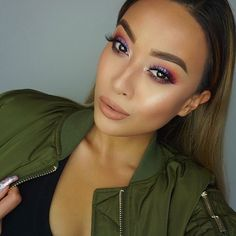 @ninasvanity added a gorgeous wash of color to her cheeks with our High Definition Blush in 'Soft Spoken' and highlighted with our Strobe of Genius Illuminating Palette!  What's your #MOTD? || #nyxcosmetics by nyxcosmetics
