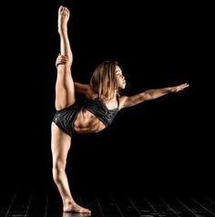 Asia Ray Monet (Dance Moms) in her Details Dancewear pinch front set