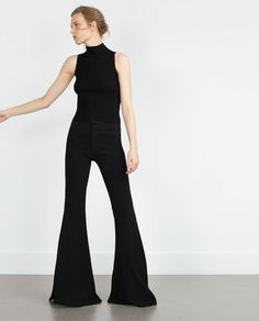 HALTER NECK TOP-Knitwear-Woman-COLLECTION AW15 | ZARA United States