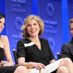 Julianna Margulies and fellow cast members and producer of CBS' 'The Good Wife' appeared at a PaleyFest panel Saturday hosted by new 'Late Late Show' host James Corden.