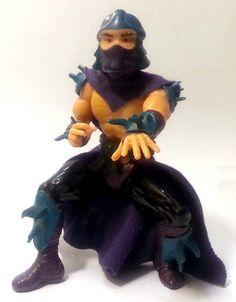 Shredder della Playmates Toys datato 1988. #TMNT #TeenageMutantNinjaTurtles #TartarugheNinja #Shredder #Figures #Miniatures #Ninja