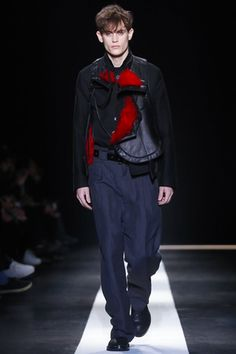 Ann Demeulemeester Menswear Fall Winter 2015