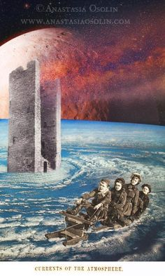 Currents of the Atmosphere, collage by Anastasia Osolin