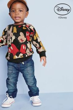 Buy Grey Mickey Mouse™ Crew Neck Jumper (3mths-6yrs) online today at Next: United States of America