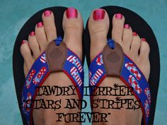 """@TawdryTerrier """"Stars and Stripes Furever"""" - 2 bottles available at https://www.etsy.com/shop/TawdryTerrier #nailpolish #indienailpolish #tawdryterrier #memorialday"""