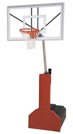 First Team Thunder Select Portable Adjustable Basketball Hoop 60 inch Acrylic from NJ Swingsets