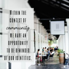 I understand the feeling of needing to do everything. Yet that's not what the disciples did - they were wiser than that.  http://workinprogressblog.co/community-opportunity
