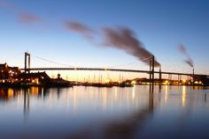 Gothenburg, Sweden- I just have to live somewhere in Sweden with an AMAZING bridge- be it Malmö or Göteborg or ANYWHERE!!