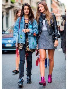 Jaqueta Jeans Oversized - Os Achados