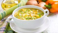 طريقة عمل حساء الخضار الساخن - hot vegetable soup recipe