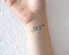 let it be tattoos - Google Search