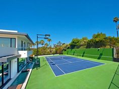 amazing home in bel air with tennis court