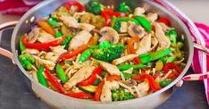Sauté de poulet Teriyaki aux légumes