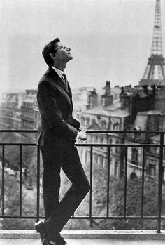 #YvesSaintLaurent Paris 1960 -- #BlackTie