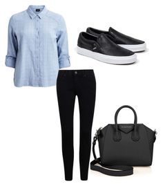 """""""Untitled #90"""" by maritzawaffles on Polyvore featuring VILA, Givenchy and Vans"""