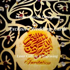 Laser cutting is one of the digital making methods We undertake all kinds of laser cutting on Plywood MDF Acrylic Paper fabric Cardboard Wedding cards Engraving Potraits  souvenir Student Projects Functional Art Jewellery Laser Cut wood Laser Cut toys & games etc Custom laser Cutting service is ideal for making custom parts quickly accuratly with highest perfection & most important economical for any project.  Contact us  UAE 971-55-226 3040 JA@najibinterior.com  QTR 971-55-944 6777…