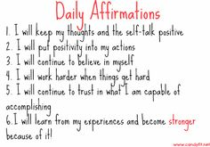 Positive Daily Affirmations Inspirational, motivational aspirations and quotes Happy Thoughts, Positive Thoughts, Positive Vibes, Positive Quotes, Motivational Quotes, Inspirational Quotes, Uplifting Thoughts, Spiritual Quotes, Morning Affirmations