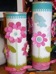 Diy Pringles Can Crafts Crafts For Seniors, Diy And Crafts, Craft Projects, Crafts For Kids, Projects To Try, Arts And Crafts, Paper Crafts, Craft Ideas, Pringles Dose