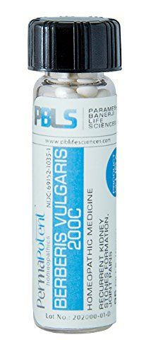 Berberis vulgaris 200C 96 Pellets Homeopathic Product by Paramesh Banerji Life Sciences Made in USA -- You can find more details by visiting the image link. (This is an affiliate link) #WellnessRelaxationtherapy