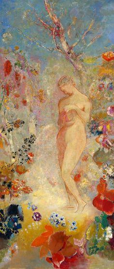 Le Prince Lointain: Odilon Redon (1840-1916), Pandora - 1910