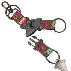 **** MADE IN THE USA******Triple Play Detachable Keychain