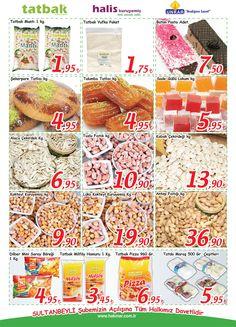 Tatbak ürünleri, Hakmar Avm Sultanbeyli Açılış Yıldönümü insertünde. #tatbak #urun #hakmaravm #acilis #yildonumu #insert