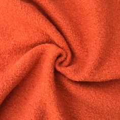 A large range of high quality boiled wool fabric and wool coating- Dressmaking fabrics for autumn and winter- sew coats, jackets- wool fabric orange Boiled Wool Fabric, Orange House, Dressmaking Fabric, Warm Autumn, Winter Warmers, Burnt Orange, Gd, Burns, Fabrics
