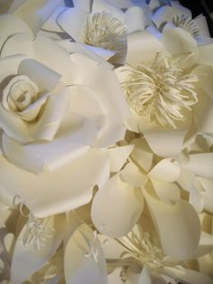 Paper flowers by carolgearing.com