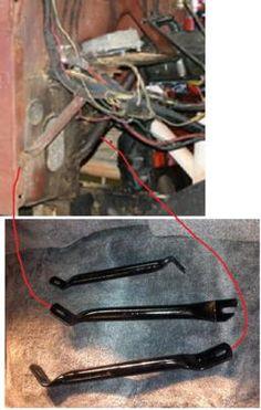 77 CJ5 underdash support tubes - Jeep-CJ Forums