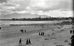 Saltcoats beach 1938 West Coast Scotland, Arran, Old Photos, Mountains, Type 3, Beach, Nature, Travel, Facebook