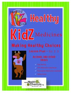 This  lesson provides students in grades 2-3 with a basic overview of medicine safety. Students will learn medication  safety rules and apply those rules through written and/or role play scenarios. Students will read and respond to medication safety scenarios.