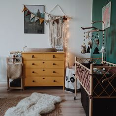 """1,261 Likes, 56 Comments - Suvi Höyden / Travel / Outdoor (@suvihoyden) on Instagram: """"Not my typical post here, but I wanna show you our adventure babys room inspired by nature and…"""""""