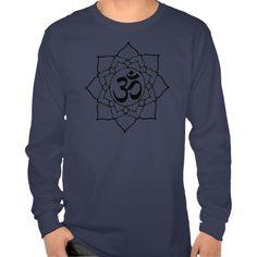 Om Symbol Lotus, Sanskrit tshirt sold