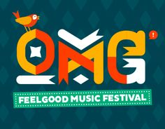 """Check out new work on my @Behance portfolio: """"OMG! Festival 2015"""" http://on.be.net/1TrwcVZ"""