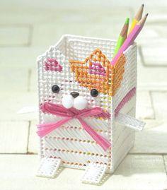 cat pencil holder DIY kit - JapanPop