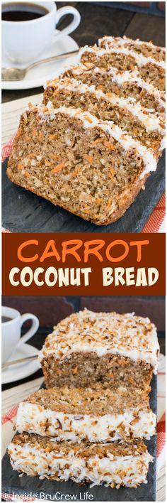 Carrot Coconut Bread