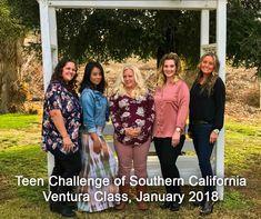 Teen Challenge of Southern California, Ventura Class, January 2018.