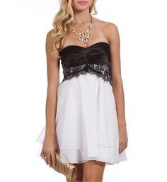 Pre-Order: Adabelle-Black/White Prom Dress