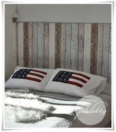 {Fabelaktig}: {DIY - Do it yourself} Bed Pillows, Pillow Cases, Coastal, Architecture, Wallpaper, Bedroom, Decoration, Crafts, Diy