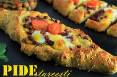 Reteta pide turcesti. Arabic Breakfast, Vegetable Pizza, Sushi, French Toast, Sweets, Bread, Vegetables, Health, Ethnic Recipes