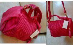 pinky crocodile bags