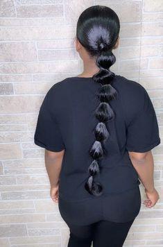 Women Hairstyles For Fine Hair .Women Hairstyles For Fine Hair Hair Ponytail Styles, Weave Ponytail Hairstyles, Black Girl Braided Hairstyles, Baddie Hairstyles, Sleek Ponytail, Headband Hairstyles, Curly Hair Styles, Natural Hair Styles, Indian Hairstyles