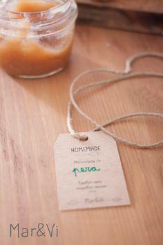 packaging imprimible GRATIS para nuestras mermeladas caseras Food Photography Styling, Food Styling, Food Branding, Food Porn, Brunch, Place Card Holders, Packaging, Homemade, Diy