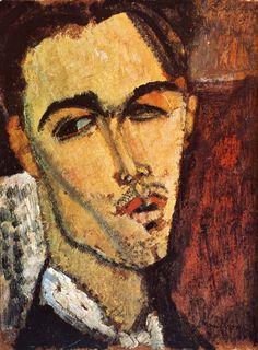 Modigliani, 1915 Portrait de Celso Lagar 35x27 cm Paris, Collection Particulière